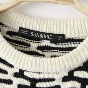 Wild Waves Loose Knit Jumper