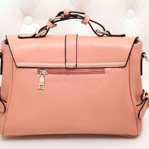 Pink Vintage Cute Fashion Messenger..