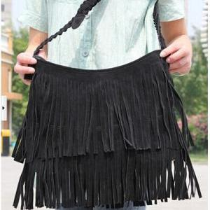 Tassel Celebrity Fringe Shoulder Me..