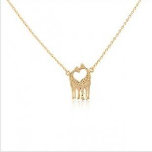 Giraffe Shaped Animal Themed Charm ..
