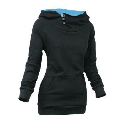 Girl Hoodie - Latest Casual Split J..