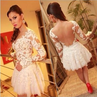 2015 Explosion Models Sexy Lace Stitching Gauze Dress,Lace Dress,Short Dress,Cocktail Dress,Party Dress,Evening Dress,Prom Dress