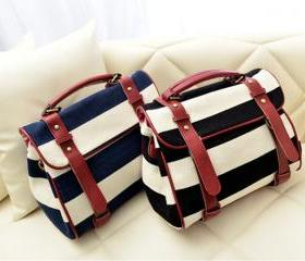 Retro Navy Striped C..