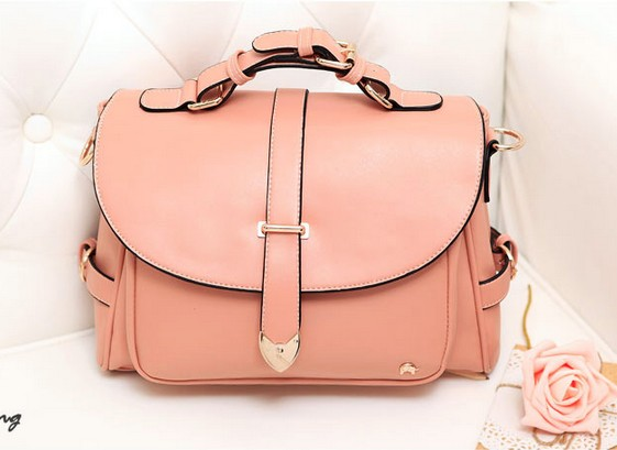 Pink Vintage Cute Fashion Messenger Bag Handbag